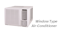 window-type air conditioner